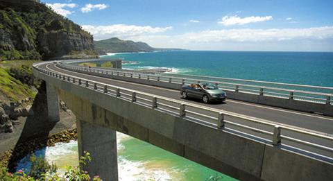 Sea Cliff Bridge, NSW Coast
