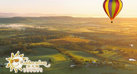 Hunter Valley Balloons at dawn_Balloon Aloft