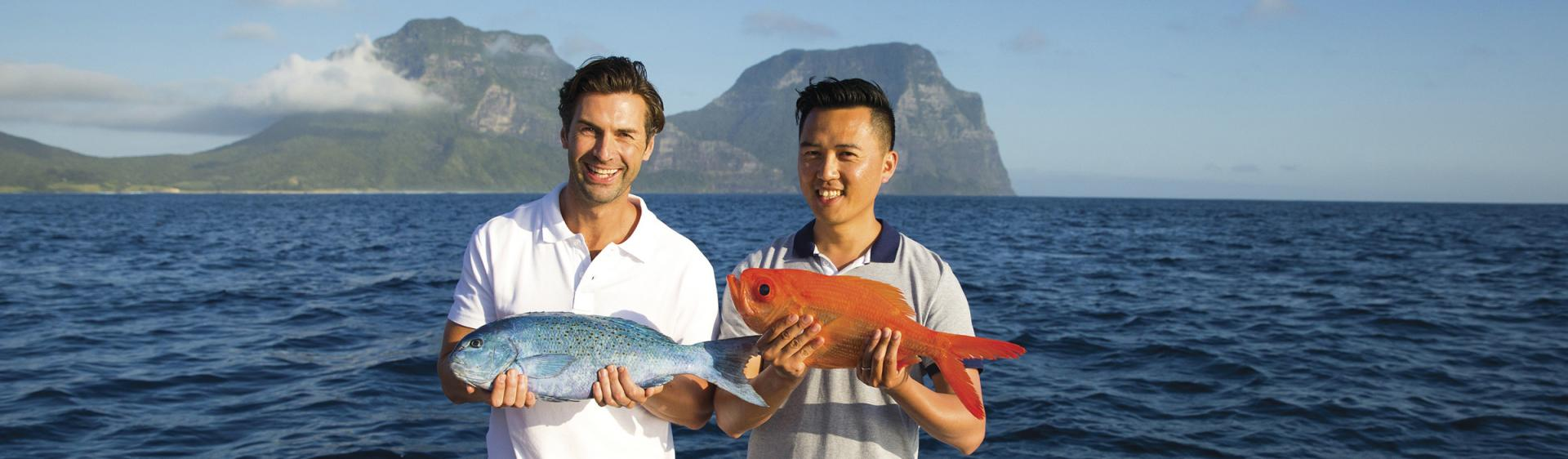Deep Sea Fishing, Lord Howe Island